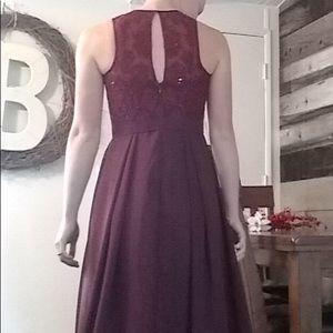 aff5ca933b4 UCenter Dress Dresses - Sleeveless Appliquéd Chiffon Bridesmaid Dress